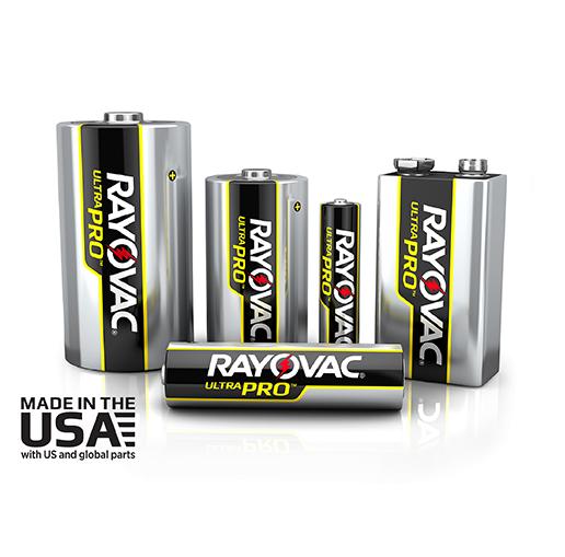 Rayovac Ultra Pro line battteries