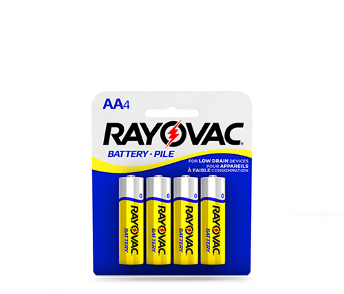 Rayovac Industrial Zinc Carbon battery