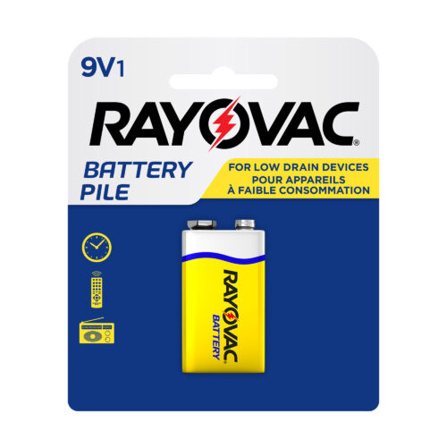 Zinc Carbon 9V Carded Pack