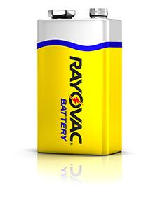 Rayovac Zinc-Carbon 9V battery