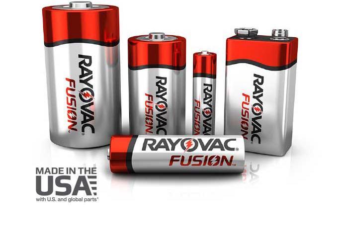 Rayovac Industrial Fusion Family
